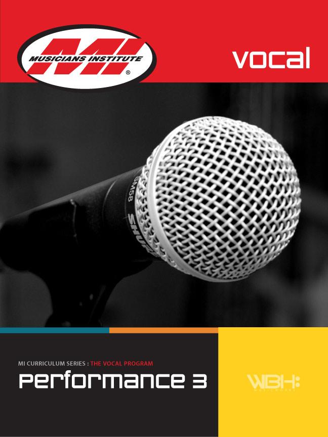 Vocal Performance 3